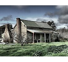 On The Calder  - Lonely in Wedderburn Photographic Print
