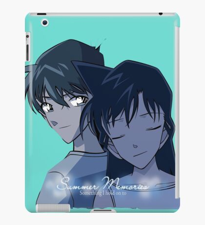 disney,cartoon,conan,detective iPad Case/Skin