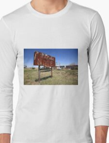 Route 66 - Western Motel Long Sleeve T-Shirt
