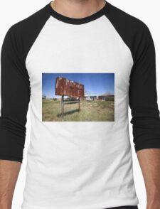 Route 66 - Western Motel Men's Baseball ¾ T-Shirt