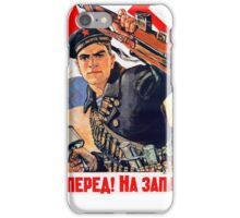 Soviet Navy poster iPhone Case/Skin