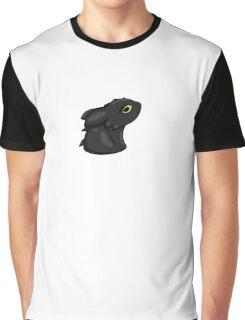 Cute Chibi Toothless Graphic T-Shirt