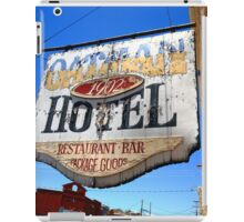 Route 66 - Oatman Hotel iPad Case/Skin