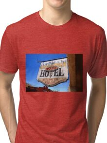 Route 66 - Oatman Hotel Tri-blend T-Shirt