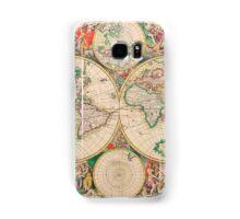 Mercator map Samsung Galaxy Case/Skin
