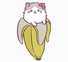 Bananya - Bananyako (large) One Piece - Short Sleeve
