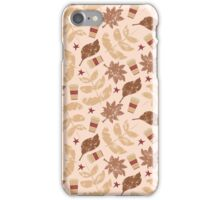 Coffee and Leaves iPhone Case/Skin