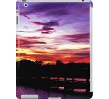 Sunset off Beach Road iPad Case/Skin
