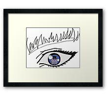 Berserk - Grifis and Gatsu Framed Print