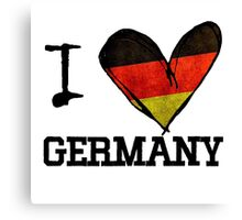 love germany Canvas Print