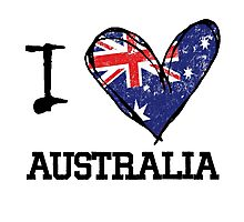 love australia Photographic Print