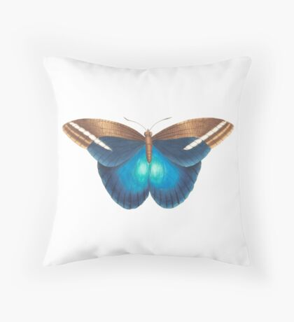 colourful butterfly Throw Pillow