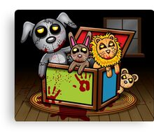 Possessed Toys Canvas Print