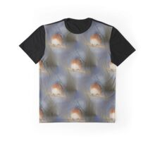 Bluebird On Branch Animal Nature Pattern Graphic T-Shirt