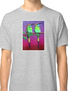 Green Bee-Eaters Classic T-Shirt