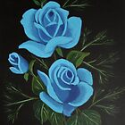 Blue Roses by maggie326