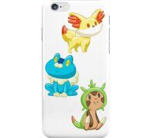 Pokemon Starters - Gen 6 iPhone Case/Skin