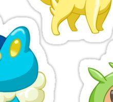 Pokemon Starters - Gen 6 Sticker