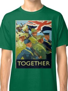 Vintage poster - Together Classic T-Shirt