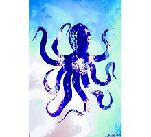 Salty octopus Photographic Print