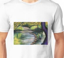 Stepping Stones, Box Hill Unisex T-Shirt
