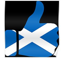 thumbs scotland Poster