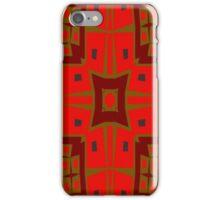Modern square pattern iPhone Case/Skin