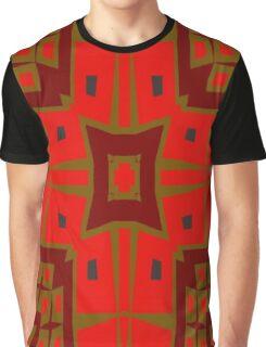 Modern square pattern Graphic T-Shirt