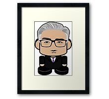 Keith Olbermann Politico'bot Toy Robot 1.0 Framed Print