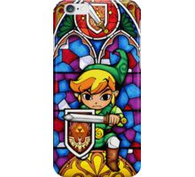 LoZ Shield Stained Glass iPhone Case/Skin