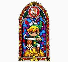 LoZ Shield Stained Glass Unisex T-Shirt