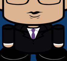 Keith Olbermann Politico'bot Toy Robot 2.0 Sticker