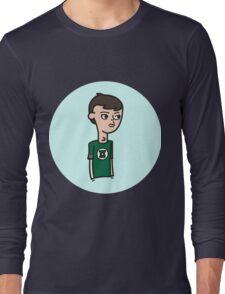 sheldon from big bang theory  Long Sleeve T-Shirt