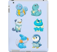 Pokemon Starters - Water Types iPad Case/Skin