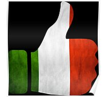 italy thumbs Poster