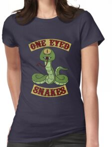 One Eyed Snakes t shirt Womens Fitted T-Shirt