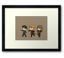 On the Patrol! Framed Print