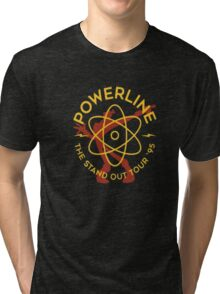 power line the stand out tshirts Tri-blend T-Shirt