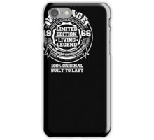 50th Birthday 50 Years Old 1966 Gift Idea Vintage Tee Shirt iPhone Case/Skin