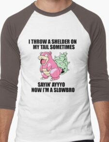 Ayyyyo i'm a slowbro Men's Baseball ¾ T-Shirt
