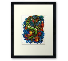 Fishing for Dragons Framed Print