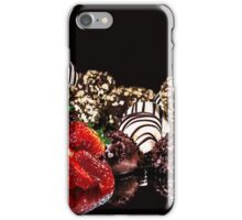 Chocolate and Strawberries iPhone Case/Skin