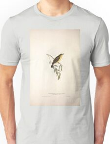 John Gould The Birds of Europe 1837 V1 V5 132 Melodious Willow Wren Unisex T-Shirt