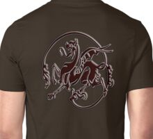 Art Nouveau, Bronze, Dragon Unisex T-Shirt