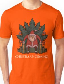 Santa Of Thrones - Christmas Is Coming Unisex T-Shirt