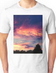 Suburban evening  Unisex T-Shirt