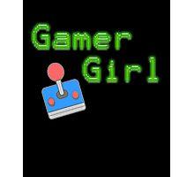 Gamer Girl - Vintage Gaming Photographic Print