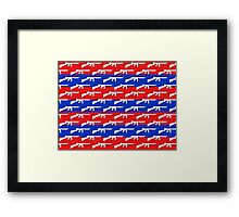America's most iconic Framed Print