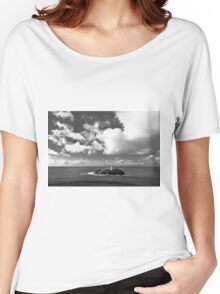 Clouds Over Godrevy Lighthouse Women's Relaxed Fit T-Shirt