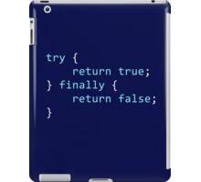 Developer Programmierer Code Snippet iPad Case/Skin